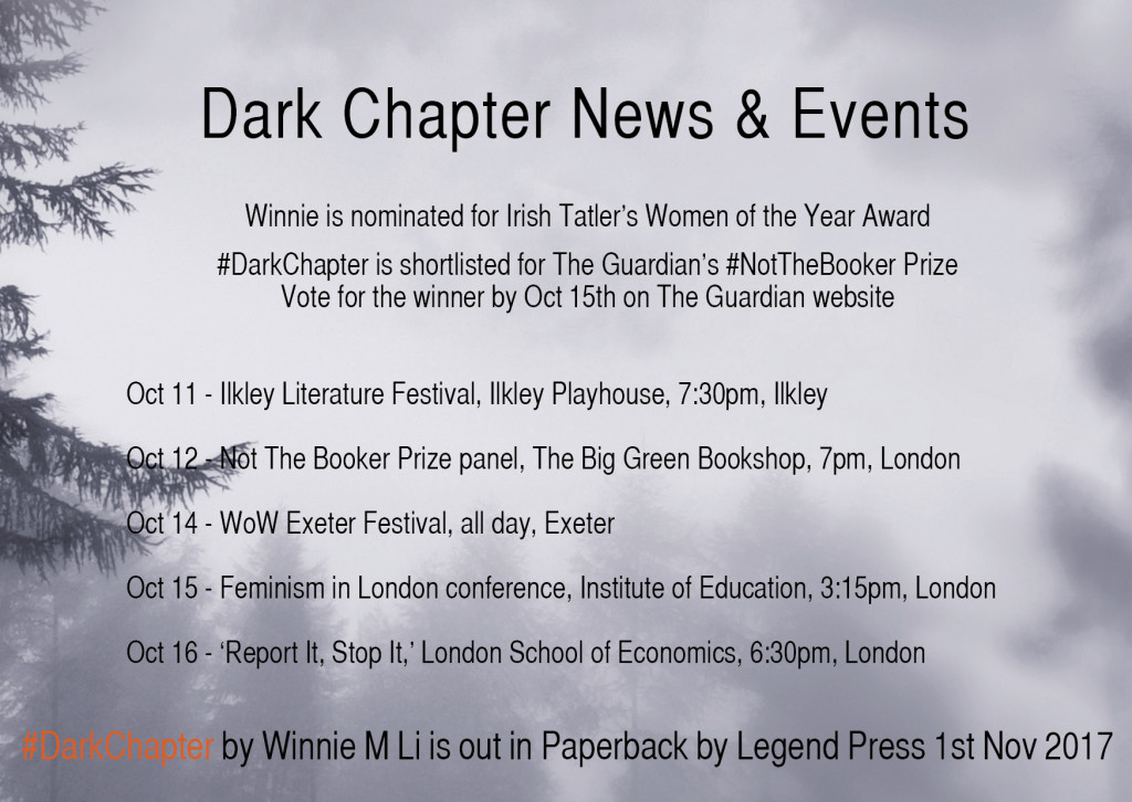 dark chapter nov news and events jpeg
